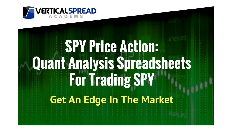 SPY Quant Analysis Spreadsheets