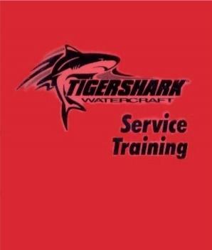 arctic cat watercraft tigershark 1995 service manual