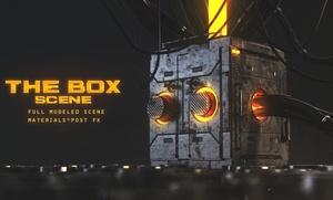 BOX// scene -(VRAY)