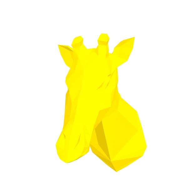 Papercraft Head giraffe V2_file PDF