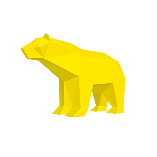 Papercraft Bear Grizzly_file PDF