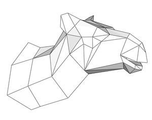 Papercraft Head_camel_file PDF