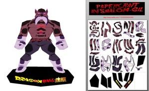 Papercraft Chibi toppo god of destruction