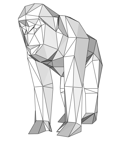 Papercraft barbary ape_file PDF