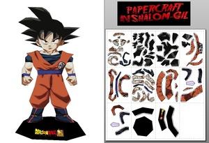 Papercraft Chibi Goku