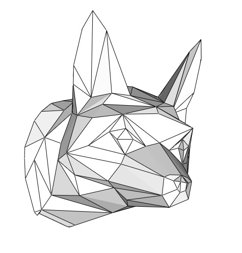 Papercraft Fox_head_file PDF
