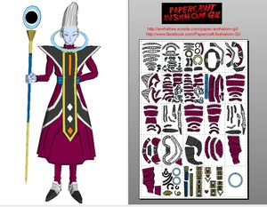 Papercraft Whis