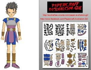 Papercraft Cabba