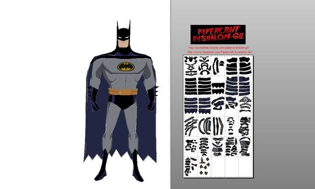 Papercraft batman series 1992