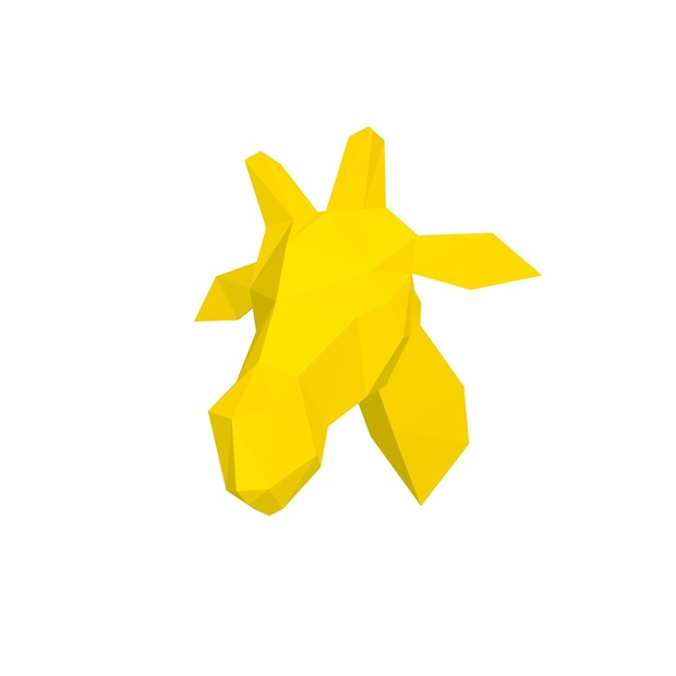 Papercraft Head_giraffe_file PDF