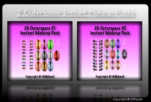 40 Outerspace Instant Makeup With Resell Rights