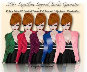 256+ Sextillion Layered Jacket Generator With Resell Rights