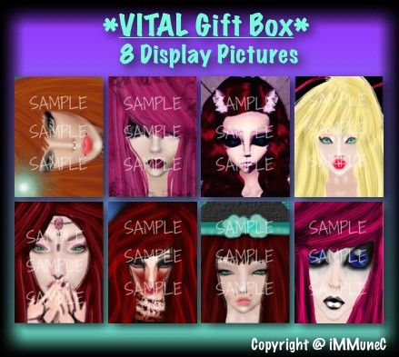8 Display Pictures Gift Box With Resell Rights