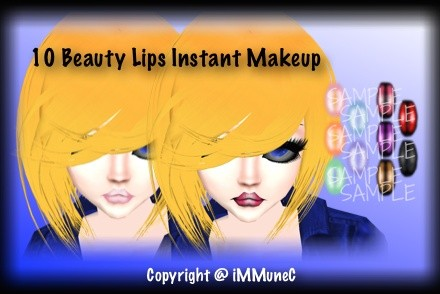 10 Beauty Lips Instant Makeup