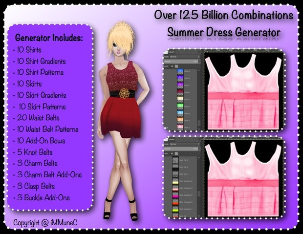 125+ Billion Summer Dress Generator With Resell Rights