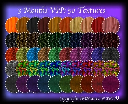 3 Months (90 Days) VIP With VITAL (50 Freebie Textures Included)
