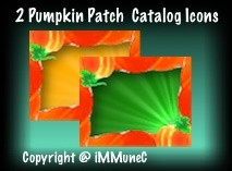 2 Pumpkin Patch Catalog Icons