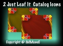 2 Just Leaf It Catalog Icons