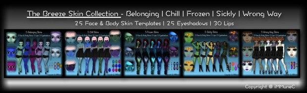 25 Breeze Skin Texture Collection With Resell Rights