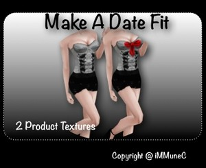 2 Make A Date Fit Textures With Resell Rights