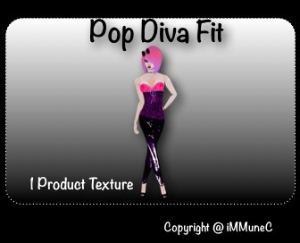 1 Pop Diva Fit Texture With Resell Rights