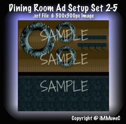 1 Dining Room Advertisement Set 2-5