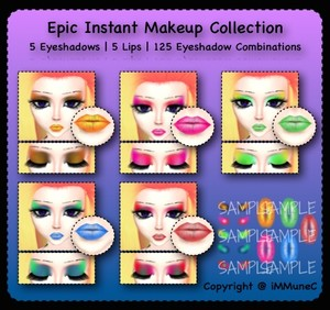 10 Epic Instant Makeup Pack