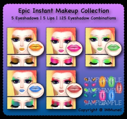 10 Epic Instant Makeup Pack