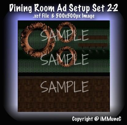 1 Dining Room Advertisement Set 2-2