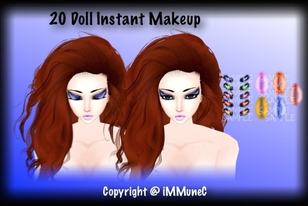 10 Doll Instant Makeup