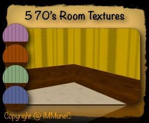 5 70's Room Textures