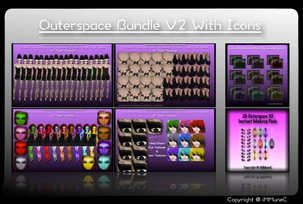 81 Outerspace Bundle (V2) + 18 Catalog Icons