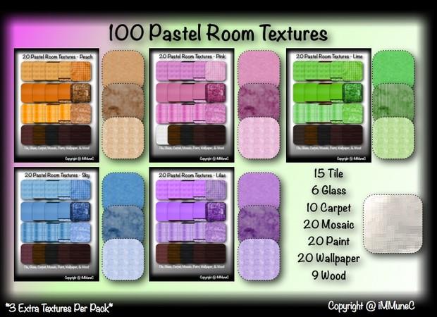 100 Pastel Room Textures