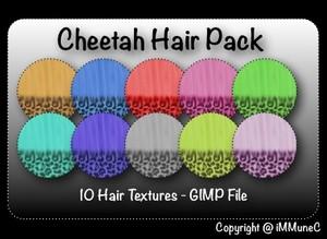 10 Cheetah Hair Textures