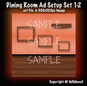 1 Dining Room Advertisement Set 1-2