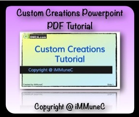 IMVU Custom Creations Tutorial