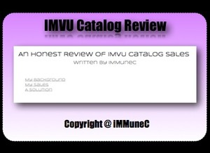 An Honest Review of IMVU Catalog Sales