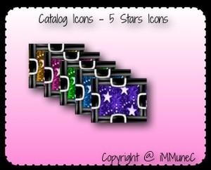 5 Stars Catalog Icons