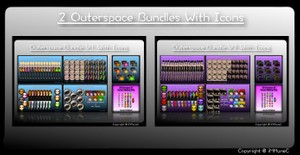 153 Outerspace Bundle + 34 Catalog Icons With Resell Rights
