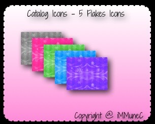 5 Flakes Catalog Icons