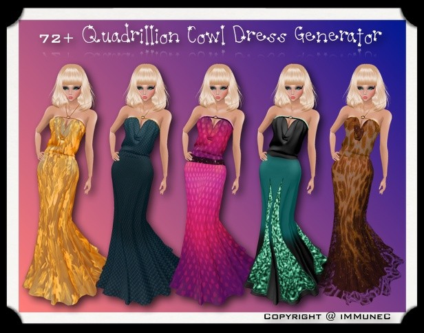 72+ Quadrillion Cowl Dress Generator (1/5) With Resell Rights