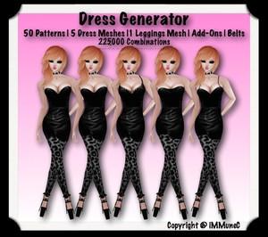 225,000 Piece Dress Generator