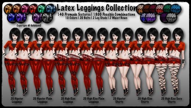 140 Latex Leggings Collection