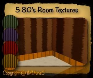 5 80's Room Textures