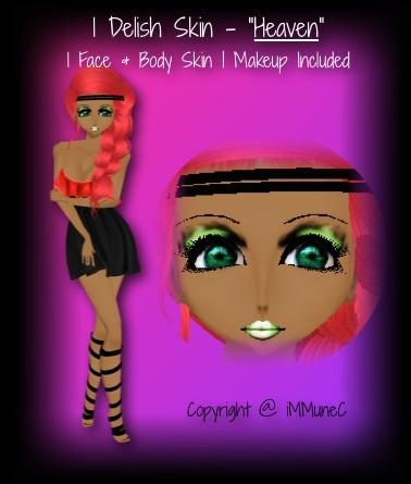 1 Delish Heaven Skin Texture