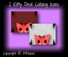 2 Kitty Devil Catalog Icons