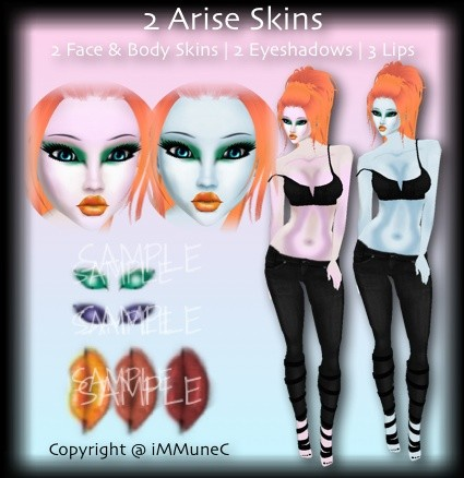 2 Arise Skin Textures