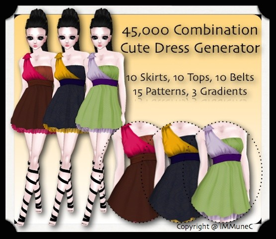 45,000 Combination Cute Dress Generator With Resell Rights
