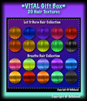 20 Hair Textures Gift Box With Resell Rights