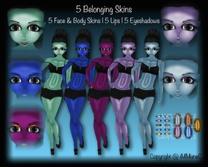 5 Belonging Skin Textures